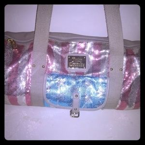 Juicy couture duffle bag.